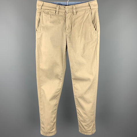 S.K.U. Size 28 Tan Cotton Zip Fly Casual Pants