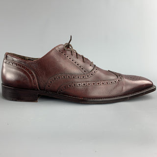 TO BOOT NY Size 13 Brown Leather Wingtip Lace Up Shoes