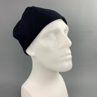 ENGINEERED GARMENTS Black Cotton Blend Beanie