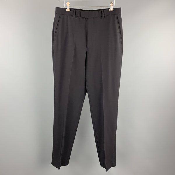 PS by PAUL SMITH Size 32 Navy Wool Flat Front Dress Pants