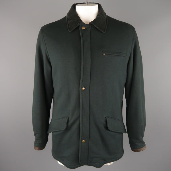 ADAM KIMMEL M Black Cotton / Wool Jacket