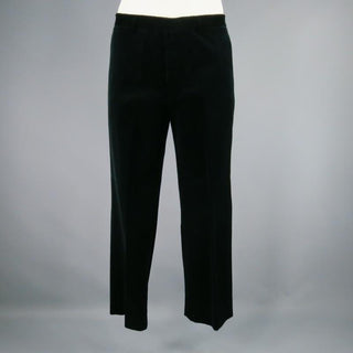 JIL SANDER Size 33 Black Solid Wool Dress Pants