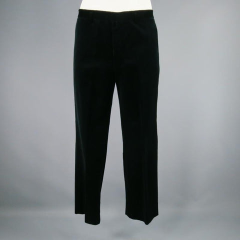 JIL SANDER Size 33 Black Solid Wool Dress Pants - Sui Generis Designer Consignment