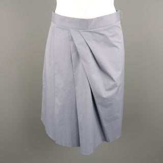 MOSCHINO Size 4 Gray Cotton Skirt