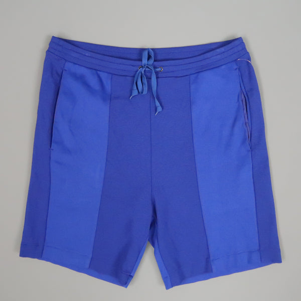 N. HOOLYWOOD Size S Blue Color Block Pique Shorts