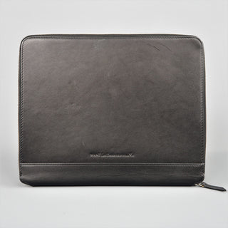 WANT by LES ESSENTIELS DE LA VIE  Black Leather iPad Tablet Case - Sui Generis Designer Consignment