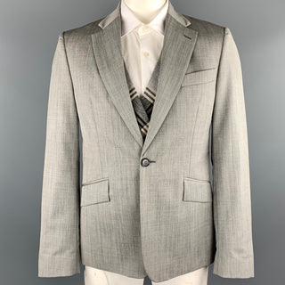 VIVIENNE WESTWOOD MAN Size 42 Grey Wool Notch Lapel Sport Coat
