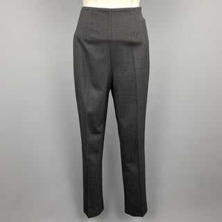 RALPH LAUREN Black Label Size 2 Charcoal Wool Dress Pants