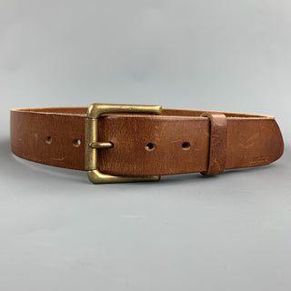 BILLYKIRK Size 32 Tan Leather Belt
