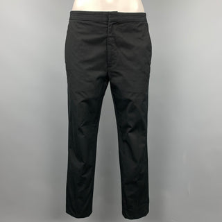 MARC JACOBS Size 0 Black Cotton Chino Casual Pants
