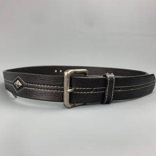 HARLEY DAVIDSON Size 40 Black Studded Leather Belt