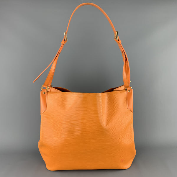 LOUIS VUITTON Orange Epi Leather MANDARA MM Large Shoulder Bag