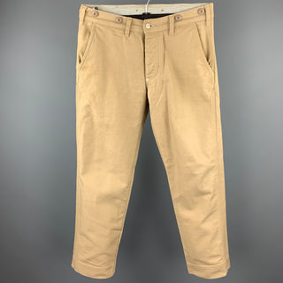 1939 Size 30 Khaki Cotton Button Fly Casual Pants