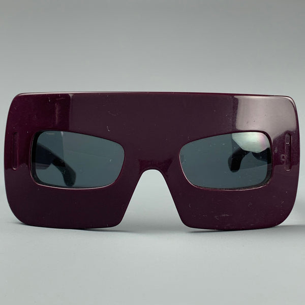 MARC JACOBS F/W 2008 Purple Acetate MASK Sunglasses