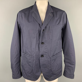 45rpm Size XL Navy Cotton Patch Pocket Jacket