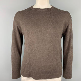 45rpm Size XL Brown Knit Cotton Pullover