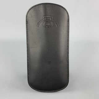 GHURKA Black Leather Eyewear Case