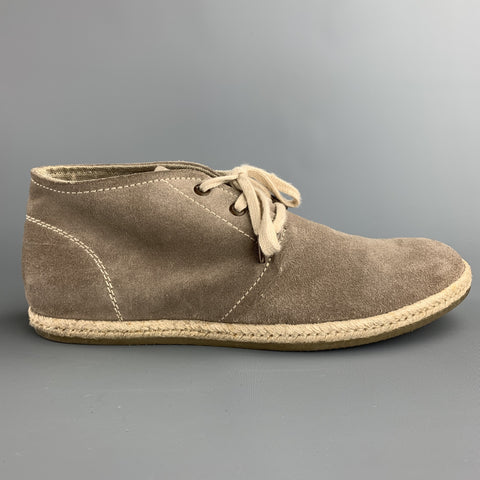 ALLSAINTS SPITALFIELDS Size 8 Taupe Suede Lace Up Chukka Boots
