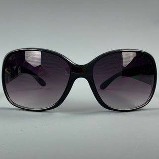 OSCAR DE LA RENTA Grey Acetate Textured Sunglasses