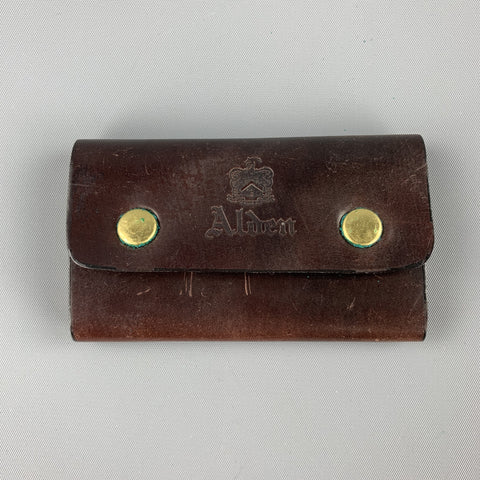 ALDEN Color 8 Cordovan Leather Key Case