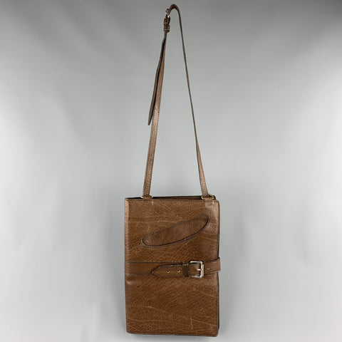 Vintage WILKES BASHFORD Brown Leather Shoulder Bag