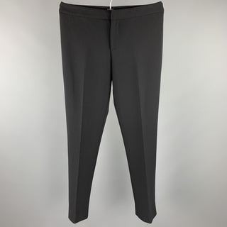 RALPH LAUREN COLLECTION Size 6 Black Straight Leg Dress Pants