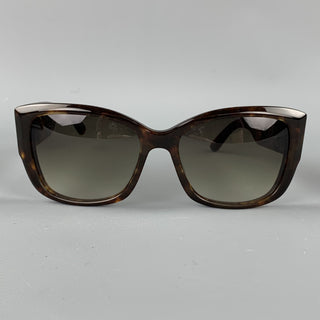 BARNEY'S NEW YORK Alyson Tortoise Shell Acetate Sunglasses