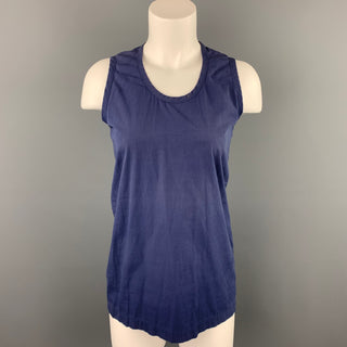 COMME des GARCONS Size M Blue Cotton Tank Top