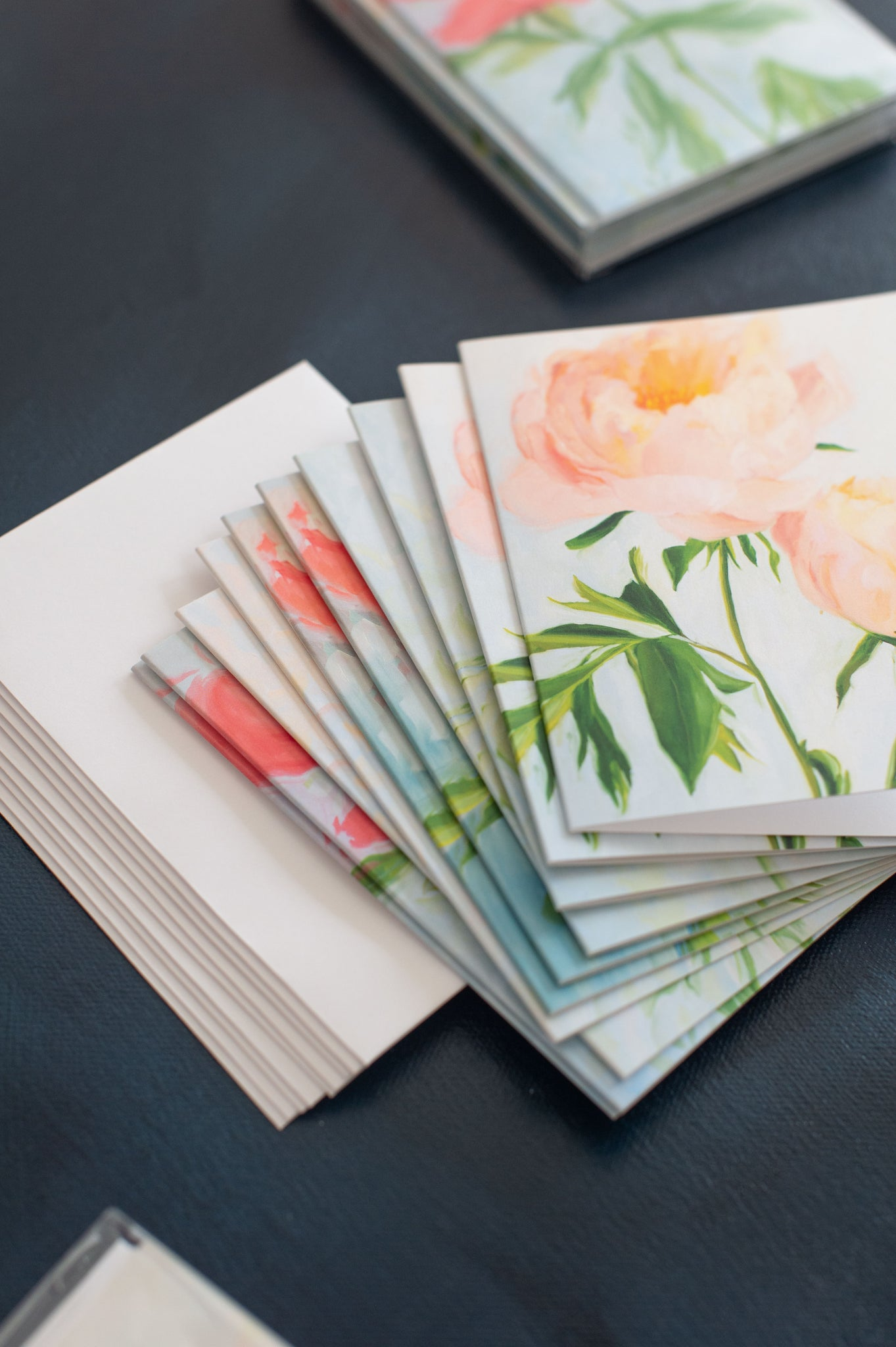 Blooming Folded Cards Stationery Set