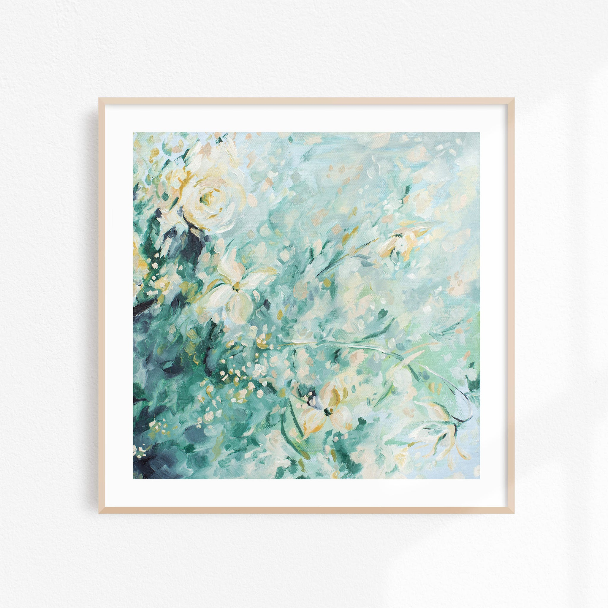 Green Study No. 04 - FRAMED Print