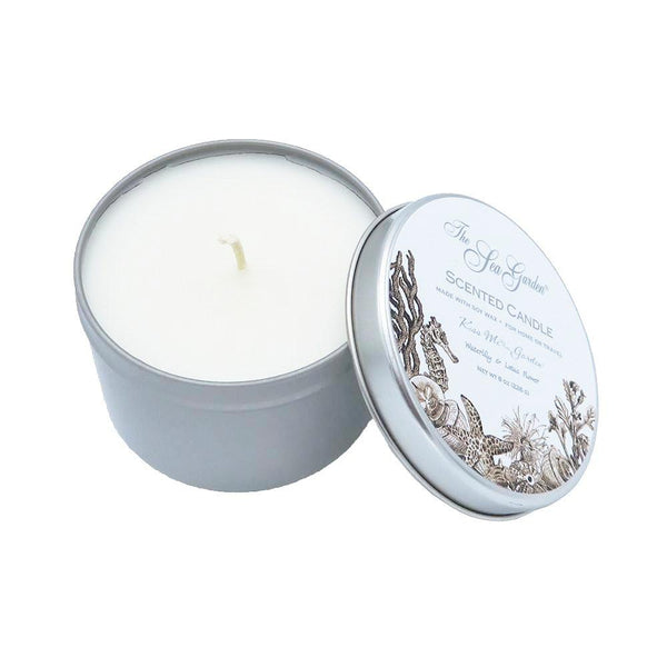 Sea Garden Soy Candles at FantaSea Coastal Home beach house decor