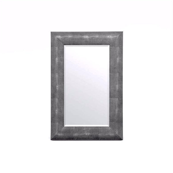 Made Goods Faux Shagreen Mirrors at FantaSea Coastal Home beach house decor