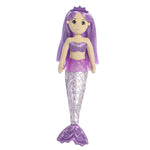 Amethyst shimmery mermaids girls childrens kids toy doll at FantaSea Coastal Home beach house decor