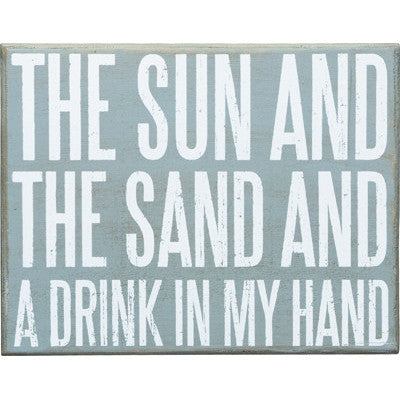 Beach House Signs - The Sun & The Sand