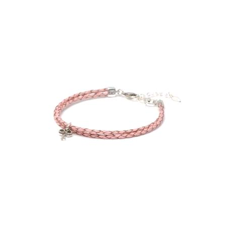 Braided Blush Novobeads Bracelet Jewelry