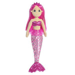 pink shimmery mermaid tail girls childrens kids toy doll at FantaSea Coastal Home beach house decor