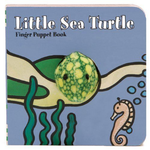 Sea Turtle Puppet Book at FantaSea Coastal Home beach house decor
