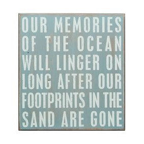 Beach House Signs - Our Memories