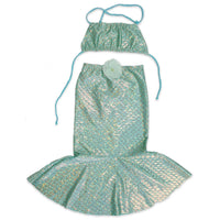 Mermaid Swimsuit Set Girls Children dress up play at FantaSea Coastal Home beach house decor