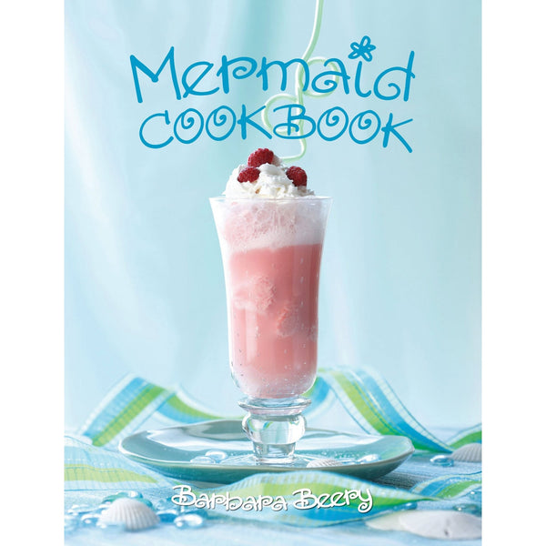 Mermaid Cookbook Cook Book at FantaSea Coastal Home beach house decor