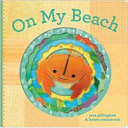 On My Beach Childrens Kids Puppet Book at FantaSea Coastal Home beach house decor