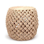 Made Goods Large Rope Knots Stools at FantaSea Coastal Home beach house decor