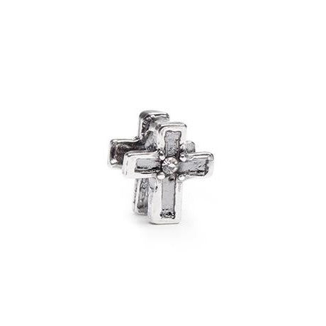 Cross sterling silver NOVObeads bracelets jewelry NOVO beads at FantaSea Coastal Home beach house decor