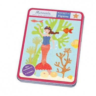 Mermaid Magnetic Figures Girls Children at FantaSea Coastal Home beach house decor
