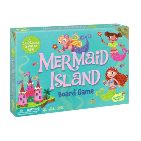 Mermaid Island Board Game Children at FantaSea Coastal Home beach house decor