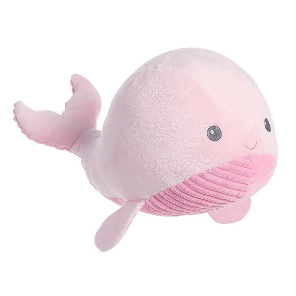 Textured Whale Plush Toy for children at FantaSea Coastal Home beach house decor