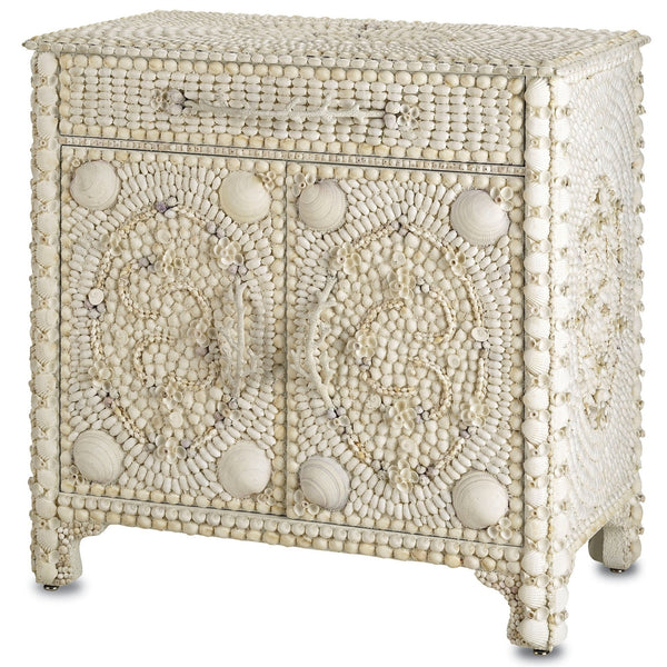 Marchmont Sea Shells Sideboard Cabinet at FantaSea Coastal Home beach house decor