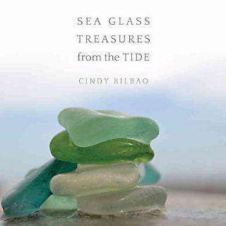 Sea Glass Treasures book at FantaSea Coastal Home beach house decor