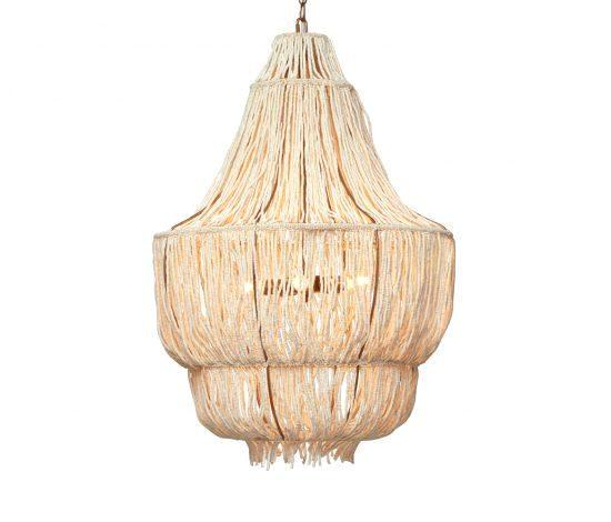 Made Goods Chandeliers Lighting at FantaSea Coastal Home beach house decor