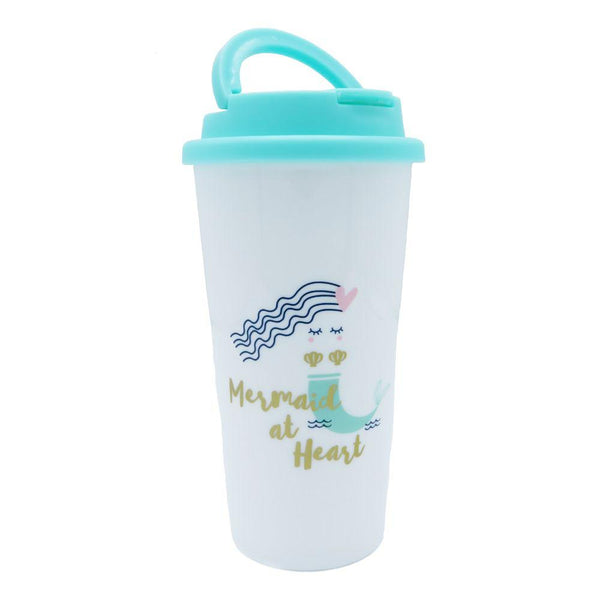 Mermaid at Heart Insulated Travel Tumbler at FantaSea Coastal Home beach house decor